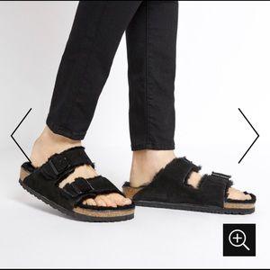 Birkenstock Arizona shearling Lined sandals